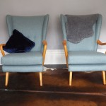 A Pair of Howard Keith Armchairs