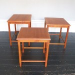 Danish Teak Nest of Tables