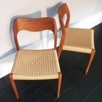 Niels Moller chairs