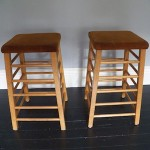 A pair of Old Gym Stools