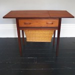 Teak Sewing Table Circa 1960