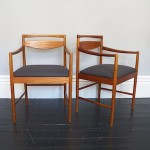 A pair of Macintosh carver dining chairs